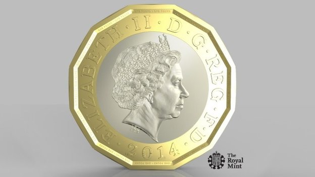 The New Shaped £1 Coin Coming out